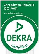 Posiadamy certyfikat ISO 9001:2015